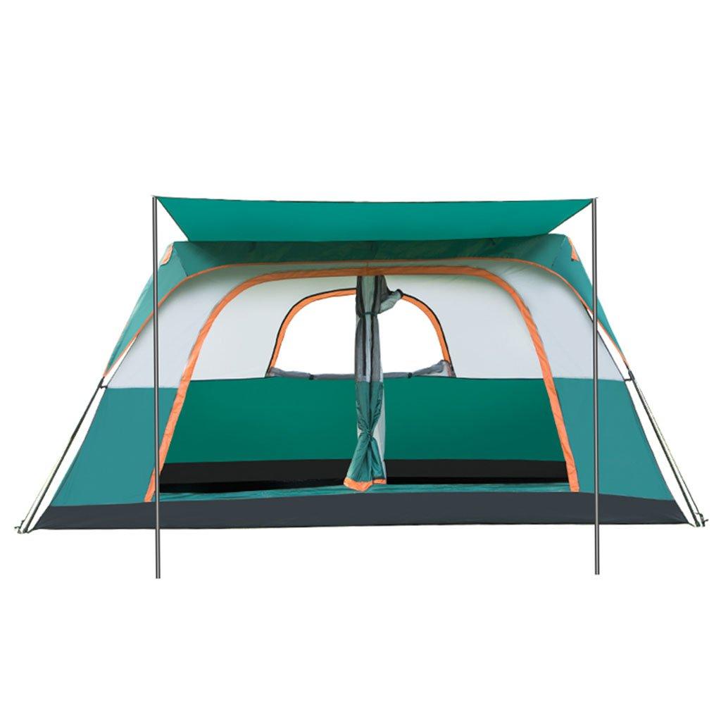 Tent-GXL GXL Zelt, automatische Outdoor-Familie regendicht Multiplayer Feld Camping Zelt