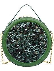Mellow World Fashion Athena Crossbody, Emerald, One Size