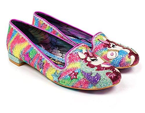 Flat Loafers Irregular Loosen Reins Women's The Pink Choice wxx4X8qF