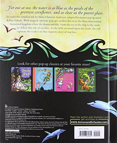 The Little Mermaid (Pop-Up Classics) by Little Simon (Image #1)