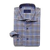 David Donahue Super Fine Twill Barrel Cuff Sport Shirt XX-Large Charcoal