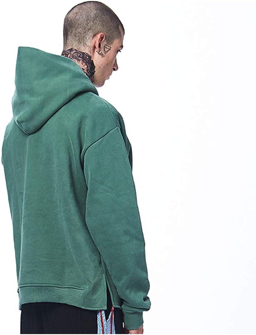 Eohak Mens Loose-Pullover Hoodie Hooded-Sweatshirt-Longsleeve Hiphop Oversized Hoodies