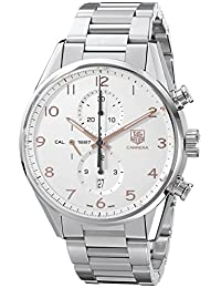 TAG Heuer Men's THCAR2012BA0799 Carrera Analog Display Swiss Automatic Silver Watch