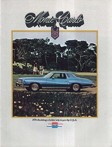 1974 Chevrolet Monte Carlo sales brochure
