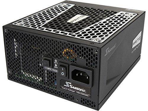 Seasonic PRIME Ultra 1000W 80 PLUS Titanium Power Supply, Full Modular, 135mm FDB Fan w/Hybrid Fan Control, ATX12V & EPS12V, Power On-Self Tester,- 12 yr Warranty (Prima Power Supply)