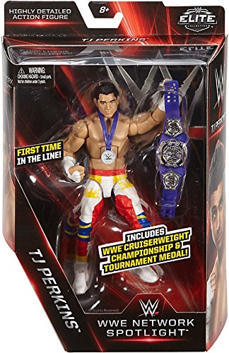 WWE Elite Collection WWE Network Spotlight TJ Perkins Action Figure 6 Inches from WWE
