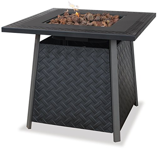 Endless Summer, GAD1325SP, LP Gas Outdoor Fire Bowl with Steel Mantel by Uniflame