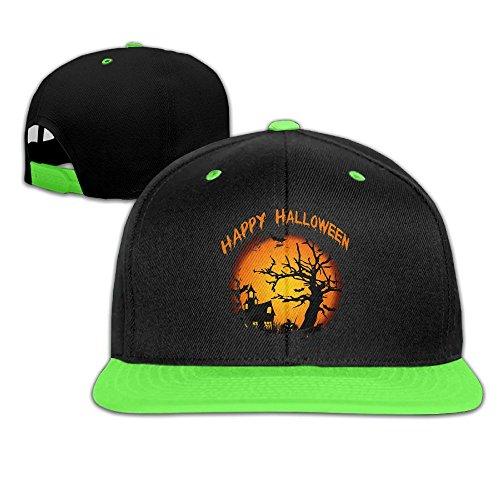 [Happy Halloween Kids Boy's & Girl's Outdoor Hip Hop Walk Cotton Caps Hats Adjustable] (Funniest Halloween Costumes College)