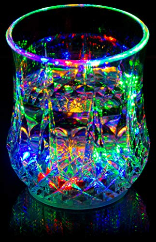 Liquid Activated Multicolor LED Glass ~ Fun Light Up Drinking Tumbler - 6 -