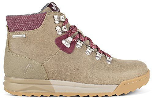 Forsake Patch - Women's Waterproof Premium Leather Hiking Boot (6.5, Timberwolf)