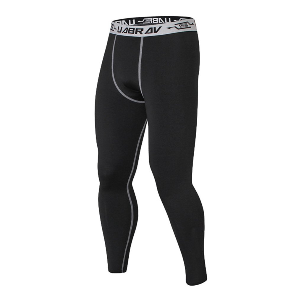 Mens Quick Drying Compression Tights Pants Trousers Crossfit Fitness Thiningstars