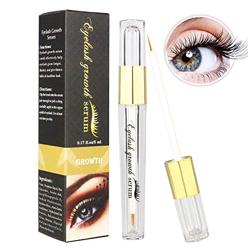 Lavish Lash Eyelash Growth Enhancer & Brow Serum Booster for Long, Luscious Lashes and Eyebrows 5ml Perfect Duo for Sensitive Eyes
