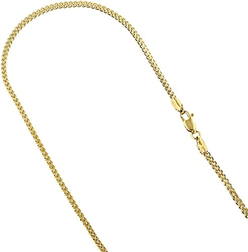 ROPE CHAIN 14KT GOLD HOLLOW ROPE CHAIN WITH LOBSTER LOCK 20 INCHES LONG