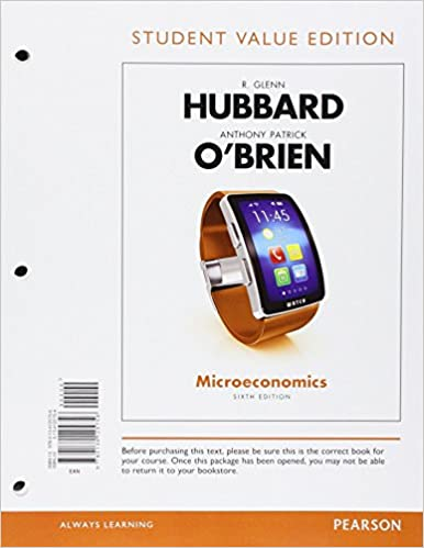 Microeconomics student value edition 6th edition 9780134125756 microeconomics student value edition 6th edition 9780134125756 economics books amazon fandeluxe Choice Image