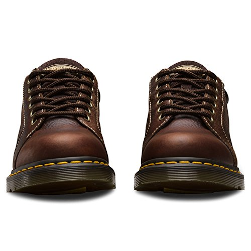 Dr. Martens Women's Mila NS 6 Eye Work Oxfords, Brown, Leather, 6 M UK, 8 M US by Dr. Martens (Image #2)