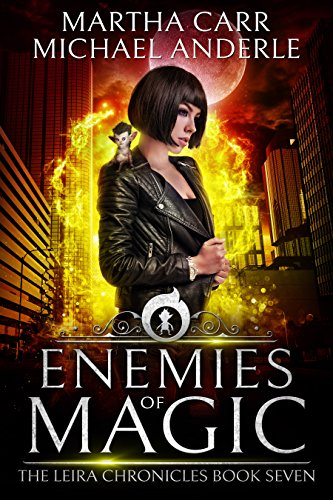 Enemies of Magic: The Revelations of Oriceran (The Leira Chronicles Book 7) cover