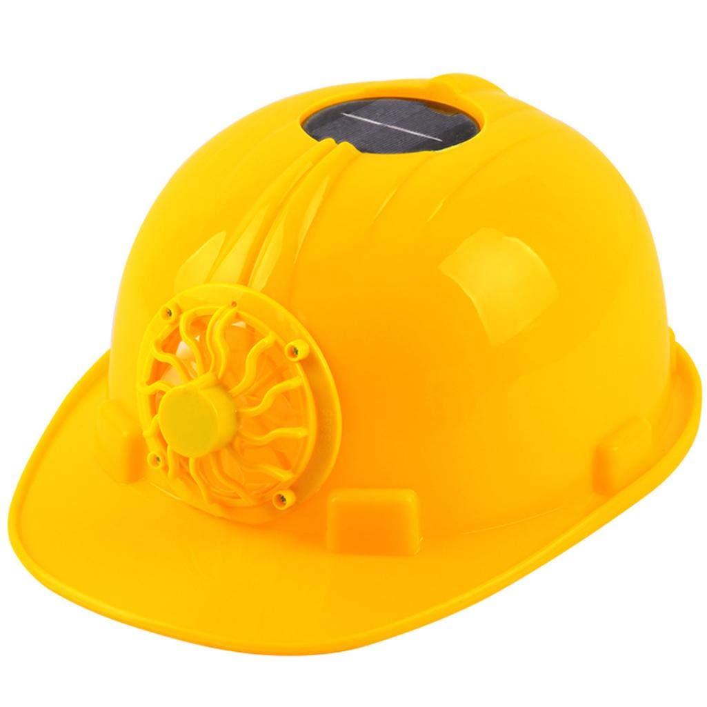 STRIR Casco de seguridad con energía solar, gorra de ventilación ...