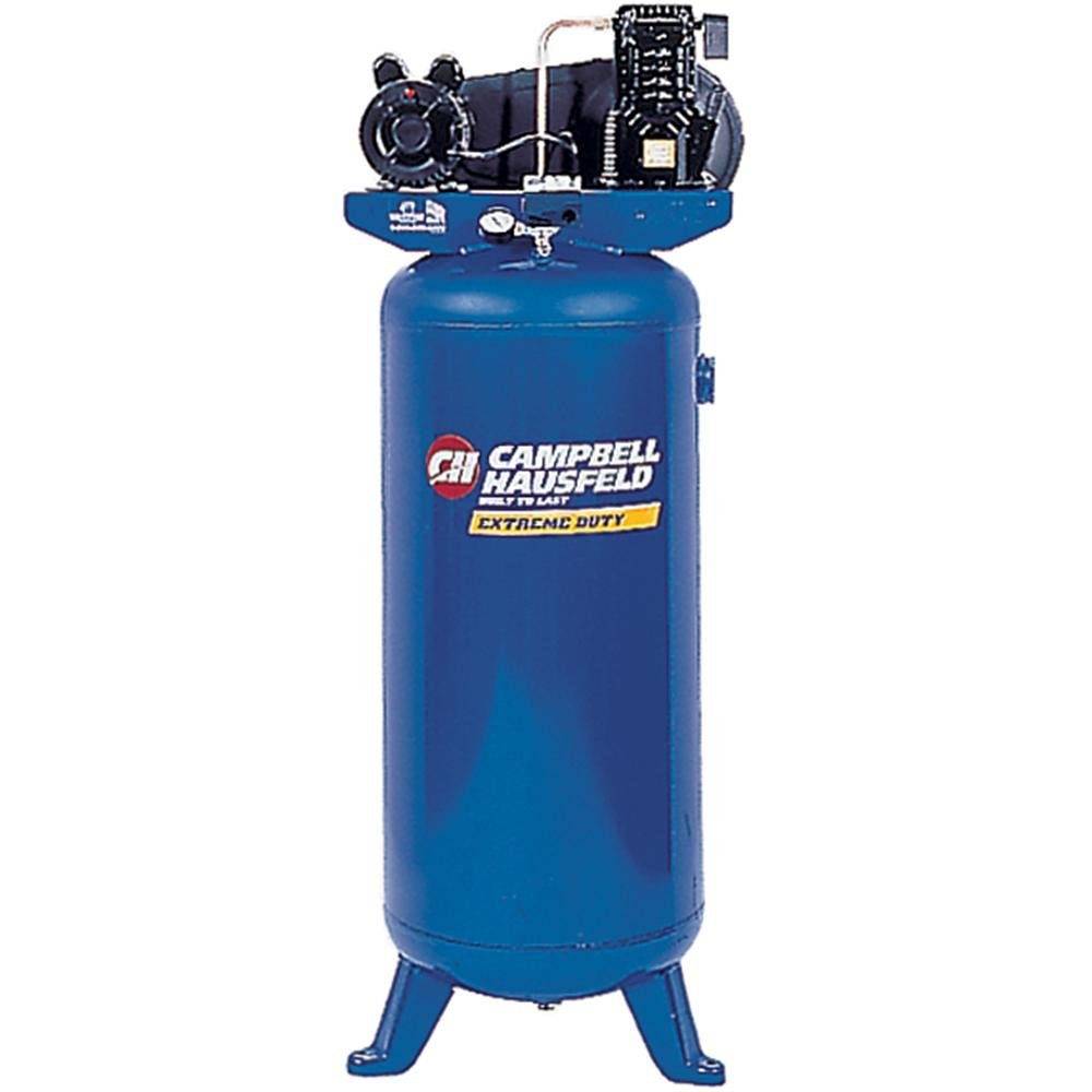 Amazon.com: Campbell Hausfeld VT6275 15 Amp 3.2-Horsepower 60-Gallon Oiled  Vertical Compressor: Home Improvement