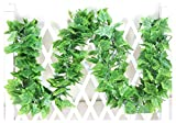 grapes decoration - Crt Gucy 40 Ft Artificial Ivy Silk Vines Fake Hanging Plants High Simulation Grape Garlands Greenery Chain For Home Wedding Wall Party Decoration, Pack of 5