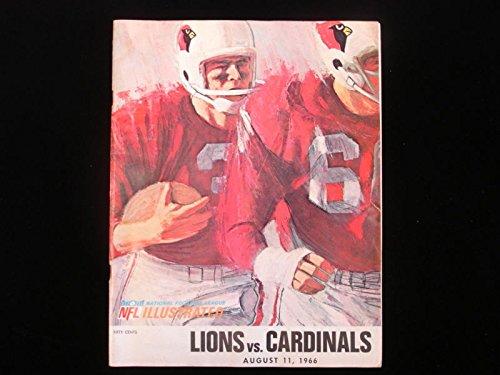 August 11, 1966 Detroit Lions vs. St. Louis Cardinals NFL (1966 Detroit Lions)