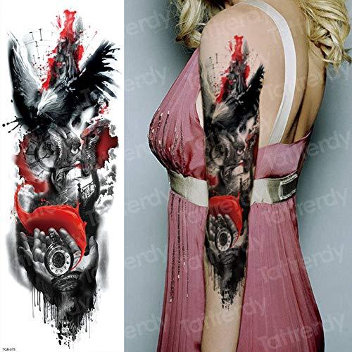 tzxdbh 3 Unids Impermeable Tatuajes temporales Hombres Old ...
