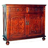 Wayborn Home Furnishing Julius Cabinet, Light Red Brown