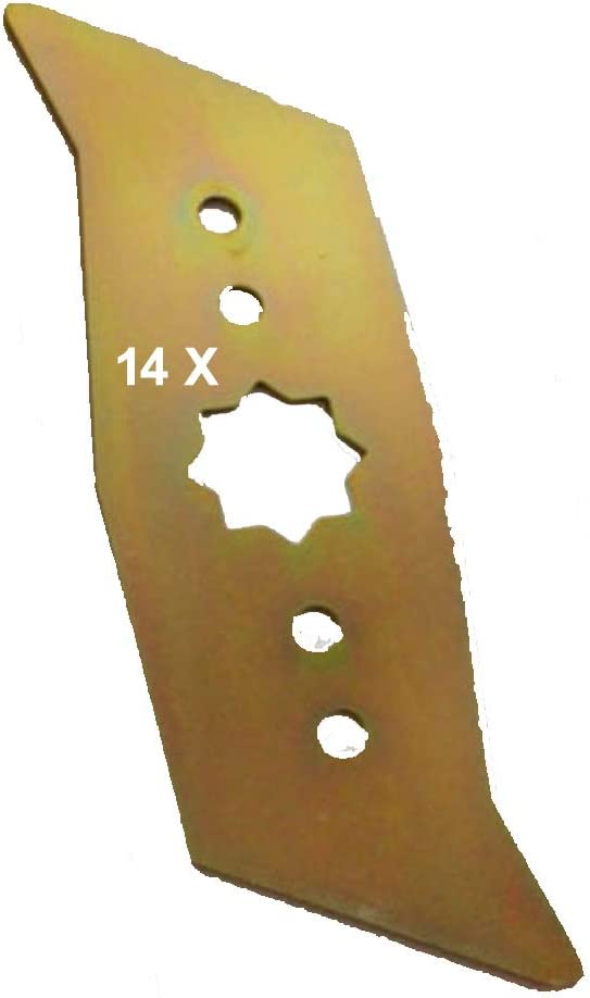 WOLF - Cuchillas escarificadoras (14 unidades)