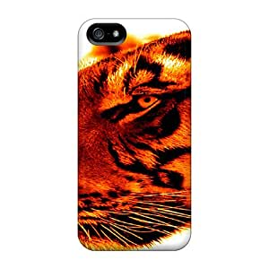 Premium Protection Cat Case Cover For Iphone 5/5s- Retail Packaging