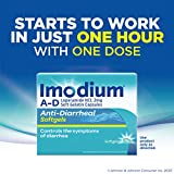Imodium A-D Anti-Diarrheal Medicine Softgels with