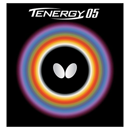 (Butterfly 2.1 Tenergy 05 Rubber, Red )