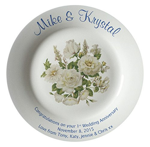 Personalized Wedding Plate - 8