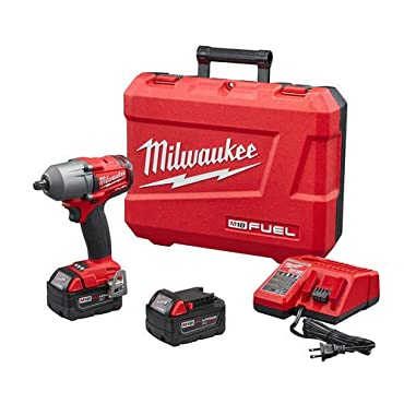 Milwaukee 2860-22 M18 FUEL 1/2 Mid-Torque Impact Wrench with Pin Detent Kit