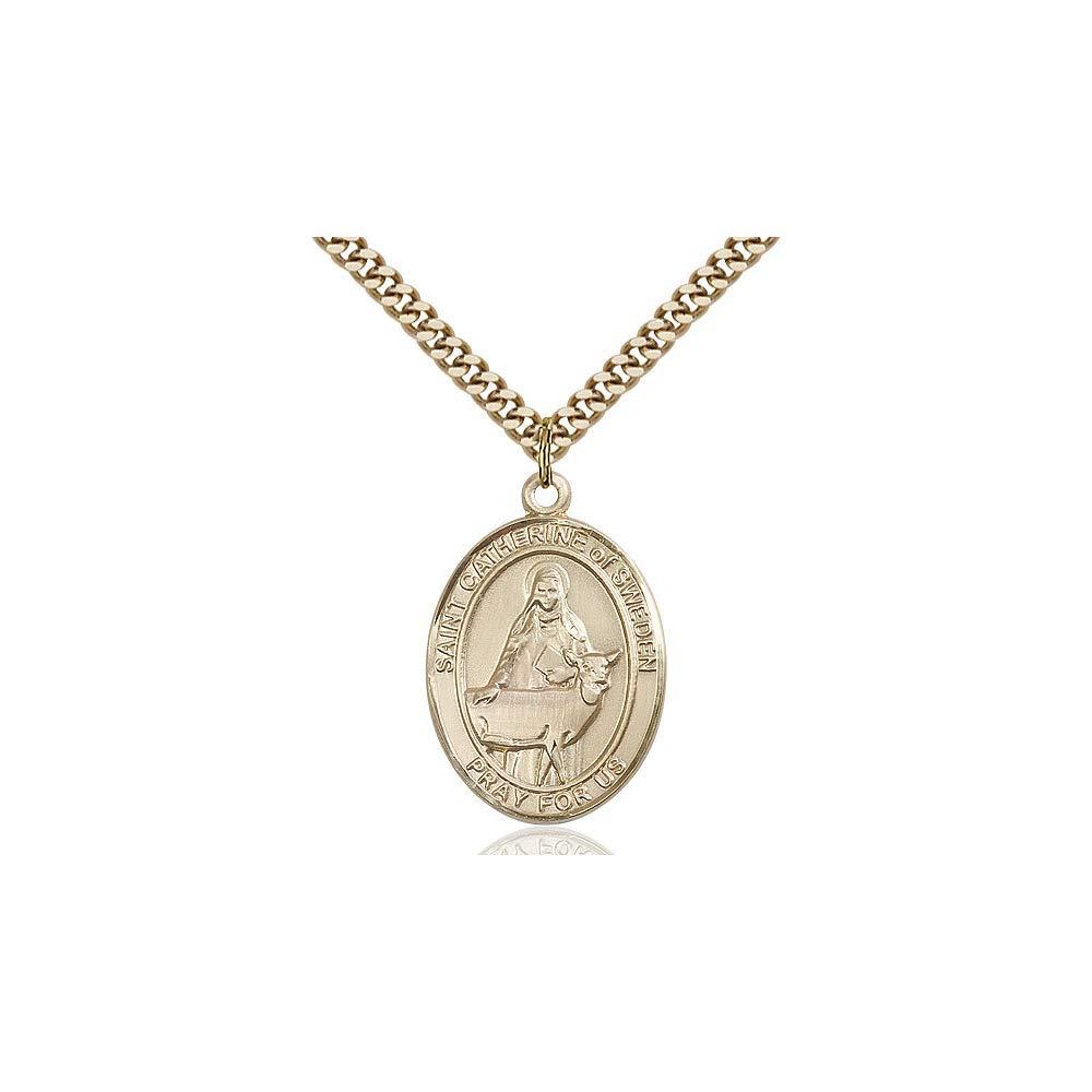 Catherine of Sweden Pendant DiamondJewelryNY 14kt Gold Filled St