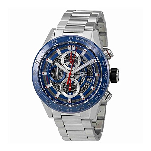 TAG Heuer Carrera Blue Dial 43 mm Mens Watch CAR201T.BA0766 (Tag Heuer Carrera Monaco Grand Prix Price)