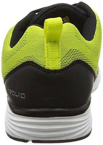 Gola Nebula, Zapatillas De Running para Mujer Amarillo (Volt/Black)