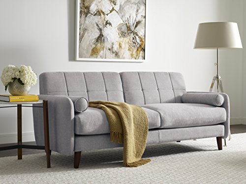 Millwork Holding Serta Savanna Collection Sofa, 73″, Smoke Gray