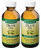 De La Cruz Pure Olive Oil 2 oz. (2 BOTTLES)