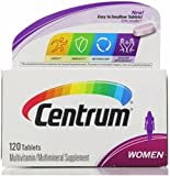 Centrum Women's Multivitamin, 120 Count (Pack of 2)