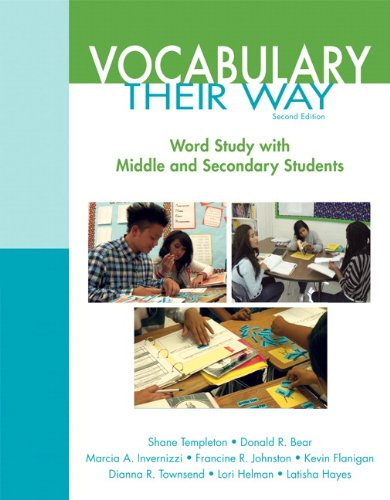 Words Their Way: Vocabulary for Middle and Secondary Students (2nd Edition) (Words Their Way Series) (Words Their Way For English Language Learners)