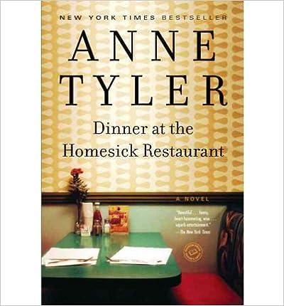 Dinner at the Homesick Restaurant (Ballantine Reader's Circle)