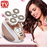 Women's Painless Hair Removal for Legs Women's Electric Shaver Cordless Razor Body, Face, Lips, Bikini, Armpit - As Seen On TV (Rose Gold)