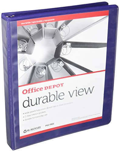 OfficeMax Durable View Binders with Round Ring 1