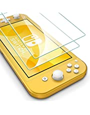 [2 Pack] ESR Screen Protector for the Nintendo Switch Lite, [Scratch-Resistant] [HD Clarity] [Force Resistant Up to 5 kg] Premium Clear Tempered Glass Screen Protector for Nintendo Switch Lite