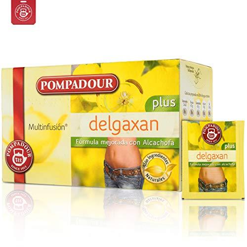 (Weight Loss Tea: Pompadour Gentle Flat Tummy Tea Artichoke Help Hydrolysis, Eliminate Edema, Reducing Bloating Slimming Tea 20 Days Tea Bags)