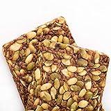 Go Raw Pumpkin Seed Bars   Keto   Gluten Free