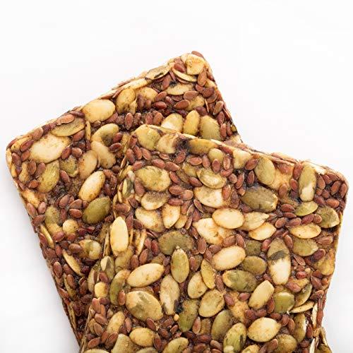 Go Raw Pumpkin Seed Bars | Keto | Gluten Free Snacks | Vegan | Organic | Paleo | Superfood (10 Bars) 3