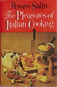 Hardcover The Pleasures of Italian Cooking Book