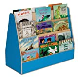 Healthy Kids Colors WD34200B Blueberry Double Sided Book Display