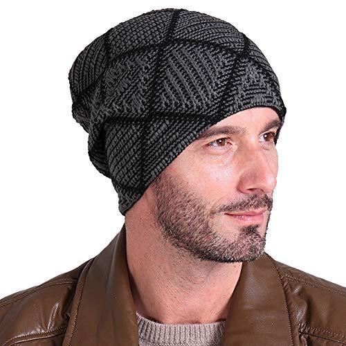 Mujeres Cap para Hats Knitting y Hombres Beanie 1 IRONLAND Warm Skull Winter Lana 8ExRCqwP