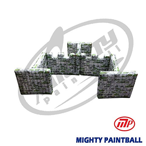 MP Paintball Air Bunker - wall panel combination - GATE shape, 3A2F2G1I (MP-SB-WP08) by MP - Mighty Products